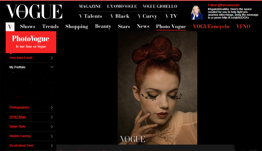photo peter kemp selected for vogue italy