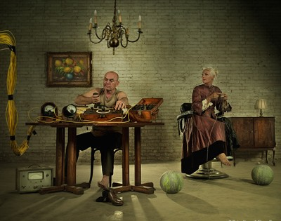 oldman's game by peter kemp art photography